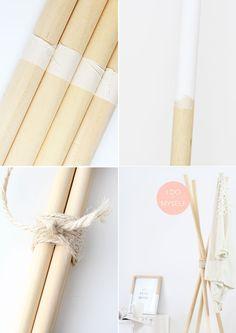 DIY : Design coat hanger. Its very easy! DIY : Porte manteau en bois. Ce DIY est un des plus simples que j'ai réalisé! Il se comporte de 4 tiges de bois et d'un peu de corde! Plus de tutoriels DIY sur mon blog : www.idoitmyself.be