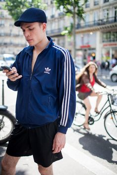 084be1a8bf Out and about at Paris Men s Spring 2017 Fashion Week. Mens Fashion Wear