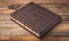 Wooden Guest Book  Drewniana księga gości