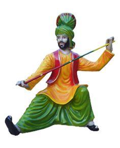 Fiber Punjabi Statue| FRP Punjabi Culture Statue | frp Wall Relief Murals | fiberglass statue | life size statue | poly resin statue | buddha statue | Chennai, Mumbai, Bangalore, New Delhi, India