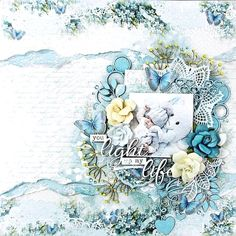 Click above VISIT link to see more #easyscrapbookinglayout