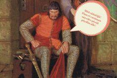 Keskiajan ritarin piti olla vahva, uskollinen ja peloton taistelussa. Lisäksi hänen piti hallita monimutkainen tapa- ja juhlaetiketti. Monet säännöt oli vaikea muistaa, ja siksi eräs englantilainen kirjoitti 1200-luvulla ritareille käytösoppaan.