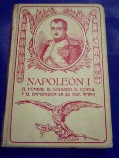 1911 NAPOLEON HOMBRE EMPERADOR v1 MONTANER SIMON BEAUTIFUL ILLUST  XRARE SPANISH