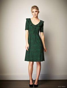 Leona Edmiston lillie spot dress.