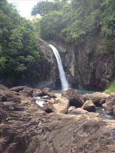 Tinago Falls, Biliran, Leyte, Philippines
