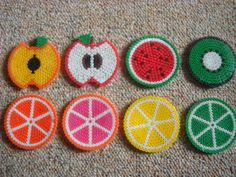 Fruity Coasters