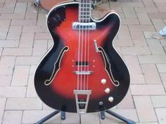 Framus Star Bass 5/150 Rarität ca 1960 Vintage Bass Gitarre in Hessen - Otzberg | Musikinstrumente und Zubehör gebraucht kaufen | eBay Kleinanzeigen