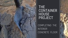 Completing The Interior Concrete Floor - Small Scale Engineering Poured Concrete, Concrete Floor, Concrete Blocks, Big Building, Paving Slabs, Work Site, Resin Coating, Floor Finishes, Home Projects