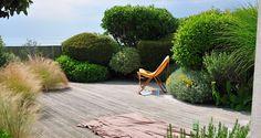 erwan tymen / jardin sur la plage de coutainville