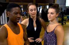 Lamar Johnson (West), Logan Fabbro (Amanda) and Jennifer Pappas (Chloe) Lamar Johnson, The Next Step, Logan, Amanda, Chloe, My Favorite Things