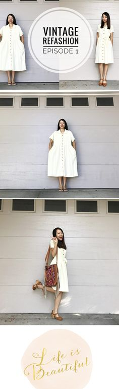 Vintage Dress Refashion