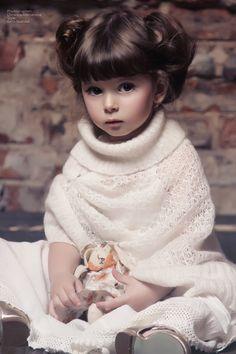 Maya Irene Wada (born May 18, 2008) fashion child model and actress from Russia. Photo by Christina Alikhanova.