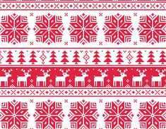 Christmas patterns vector set 03