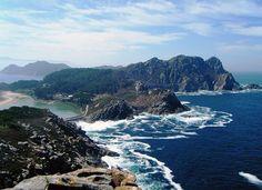 Fotos de las Islas Cíes. Paradisíacas islas al noroeste de España, con aguas de color turquesa y arena blanca. Imágenes y guía de viaje de Islas Cíes!