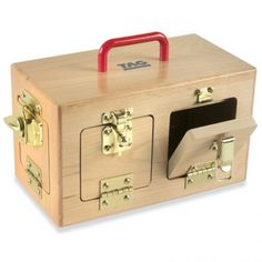 Little+Lock+Box+-+Heirloom-quality+lock+box+with+6+fasteners+from+<em>TAG</em>