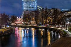 Donaukanal Honeymoon Pictures, Vienna, New York Skyline, Travel, Viajes, Destinations, Traveling, Trips