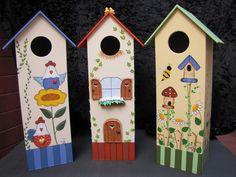 bandeja de madera pintada a mano o decopauge - Buscar con Google