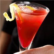 Pomegranate Champagne Punch.
