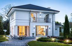 Row House Design, 4 Bedroom House Designs, House Outside Design, Classic House Design, Modern House Design, My House Plans, Modern House Plans, Beautiful House Plans, Modern Architecture Design