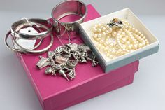 Lot 55 - A large quantity of silver, white metal and costume jewellery