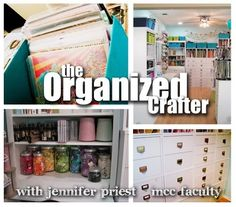 how to be an organized crafter