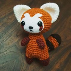 Little Pabu! This pattern from icrochetthings on ravelry turned out so cute! …