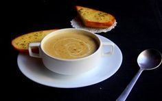 Mushroom soup Make the most of mushrooms with this comforting mushroom soup recipe made with cream, onions and garlic. Mushroom Soup Recipes, Hand Blender, Food Categories, Popular Recipes, Allrecipes, Garlic, Stuffed Mushrooms, Frozen, Cooking