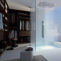 Mens bath/dressing  room