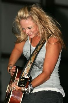 Miranda Lambert | She always gets so into the music during her shows.  Love it!