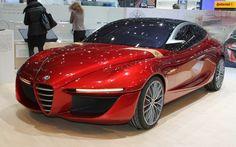 Alfa Romeo Gloria Concept is Sleek Four-Door Forbidden Fruit – 2013 Geneva - WOT on Motor Trend