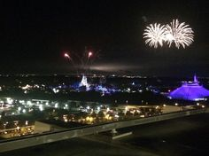 Magic Kingdom fireworks at California Grill - Walt Disney World