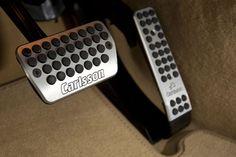 Carlsson S-Class pedal set.