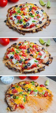 Exclusive Foods: Taco Quesadilla Pizzas                                                                                                                                                                                 More