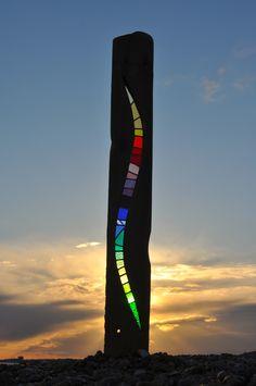 'Serpentine' at sunset