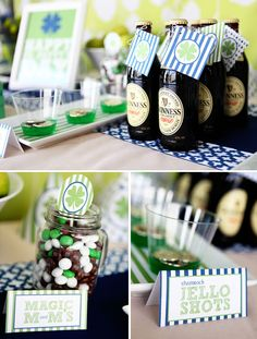St. Patrick's Day Themed Party