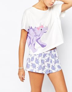 Image 3 - ASOS - Pyjama court motif joli dinosaure