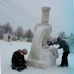 snow microscope