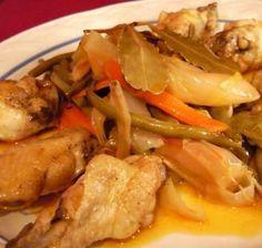 Pollo al Escabeche | Recetas 100% Salvadoreñas