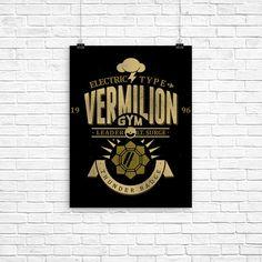 Vermillion City Gym - Poster