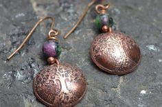 Tree of life earrings by MotherDaughterStudio on Etsy, $30.00