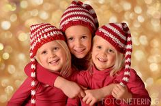 Sofía, Claudia y Elise - Navidad en familia - Fotografía by FOTONETERING