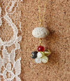 Jellyfish Cluster DIY Necklace   AllFreeJewelryMaking.com