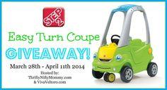 Step2 Easy Turn Coupe #Giveaway - Viva Veltoro