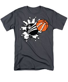 Purchase an adult t-shirt featuring the image of Basketball smash by Darren Cannell. Available in sizes S - Each t-shirt is printed on-demand, ships within 1 - 2 business days, and comes with a money-back guarantee. Basketball, Mens Tops, T Shirt, Supreme T Shirt, Tee Shirt, Tee, Netball