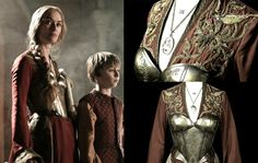 Worn by Lena Headey during HBO's Game of Thrones, costume designed by Michele Clapton.