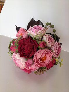 Peony Bouquet (Deco clay)