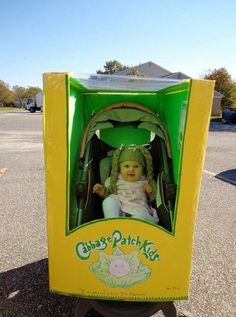 Cabbage patch kid baby Halloween Costume...how cute!