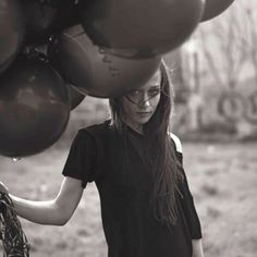 """I used to get a shiver if I thought about holding balloons, because I was scared of floating away."" - Fiona Apple"