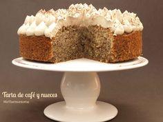 Tarta de café y nueces - MisThermorecetas