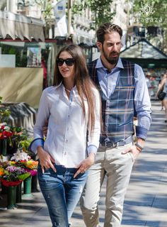 estilo en pareja... http://www.aragaza.com/camisas
